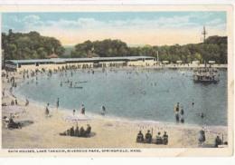 Etats Unis -Mass - Springfield - Bath House, LakeTakadip, Riverside Park     : Achat Immédiat - Springfield