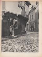 1943 - Héliogravure - Amiens (Somme) - La Rue Des Bouchers - FRANCO DE PORT - Vieux Papiers
