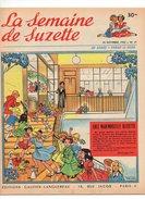 La Semaine De Suzette N°47 Chez Mademoiselle Bleuette Maison De Couture Pour Poupée De 1955 - La Semaine De Suzette