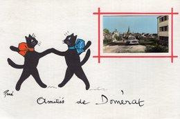 V7895 Cpa 03 Amitiés De Domérat - Sin Clasificación