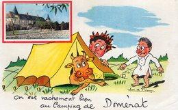 V7896 Cpa 03 On Est Vachement Bien Au Camping De Domérat - Sin Clasificación
