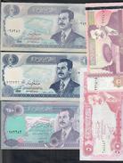 Iraq Irak 5 +  100 + 100 + 250 + 10000 Dinars Lotto 170 - Iraq