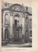 1943 - Héliogravure - Amiens (Somme) - Le Lycée De Garçons - FRANCO DE PORT - Vieux Papiers