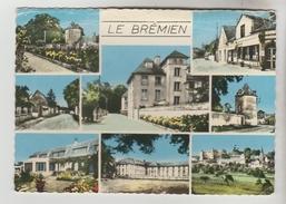 CPSM ILLIERS L'EVEQUE (Eure) - LE BREMIEN Notre Bourg 8 Vues - Frankreich