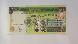SUDAN 200 DINARS 1998 UNC - Sudan