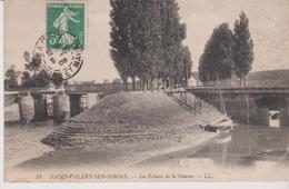 SAINT VALERY SUR SOMME (80) Les Ecluses De La Somme - Saint Valery Sur Somme