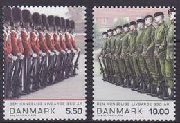 Dänemark, 2008, 1493/94,  350 Jahre Königliche Leibgarde. MNH ** - Unused Stamps