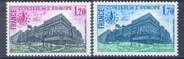 FRANCE - Yv. Nr 58/59 Conseil De L´Europe - MNH** - Cote 1,65 € - Neufs