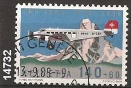 1988 - YT 49 Obl. - Val. Cat.: 3.75 Eur. - Poste Aérienne