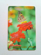 Antigua Phonecard EC$20 Flambeau (butterfly)132CATB