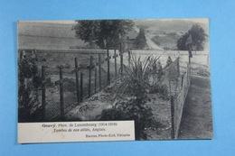 Gouvy Tombes De Nos Alliés, Anglais - Gouvy