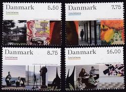 Dänemark, 2008, 1497/00, Kunstmuseum. MNH ** - Unused Stamps