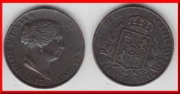 **** ESPAGNE - SPAIN - 25 CENTIMOS DE REAL 1863 ISABEL II **** EN ACHAT IMMEDIAT - [ 1] …-1931 : Royaume