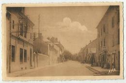 Réquista ( 12 - Aveyron) La Poste Et La Grand'Rue - Frankreich