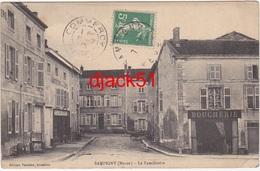 55 - SAMPIGNY (Meuse) - Le Familistère / Boucherie - 1913 - France