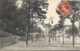 CPA St-Maur-les-Fossés Place - Saint Maur Des Fosses