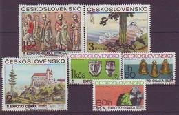 CZECHOSLOVAKIA 1928-1933,used - Archeologia