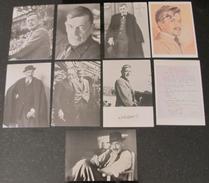 Suisse // Schweiz // Switzerland //  Ecrivains // C.F. Ramuz, Lot De 9 Cartes - Ecrivains