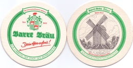 #D135-014 Viltje Barre Lübbecke - Bierviltjes