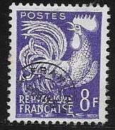 N° 109  FRANCE - PREOBLITERES -  NEUF   - COQ GAULOIS - - 1953-1960