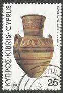 Cyprus. 1980 Archaeological Treasures. 25m Used. SG 547 - Cyprus (Republic)