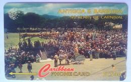 Antigua Phonecard EC$40 40th Years Carnival 181CATH