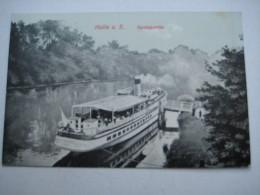 HALLE , Schöne Karte Um 1915 - Halle (Saale)