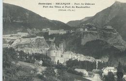 05, Hautes Alpes, BRIANCON, Fort Du Chateau,Fort Des Têtes Et Fort Du Randouillet , Scan Recto-Verso - Briancon