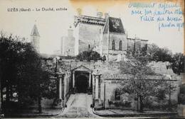 CPA - FRANCE - Uzès Est Situé Dans Le Départ. Du Gard - Le Duché , Entrée - Daté 1928 - BE