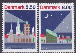 2009, Dänemark, 1528/29, Europa: Astronomie. MNH ** - Unused Stamps