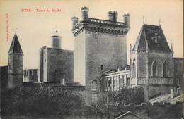 CPA - FRANCE - Uzès Est Situé Dans Le Départ. Du Gard - Tours Du Duché - TBE