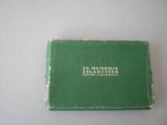 25 Memphis Zigaretten Osterr Tabak Regia  WW2 Nazy Okupation Svastika - Boites à Tabac Vides