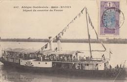 CPA - Kayes - Départ Du Courrier Du Fleuve - Sudan