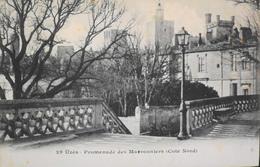 CPA - FRANCE - Uzès Est Situé Dans Le Départ. Du Gard - Promenade Des Marronniers (côté Nord) - Daté 1909 - TBE