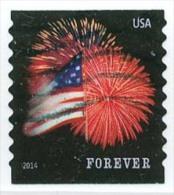 Etats-Unis / United States (Scott No.4854 - Feux D'artifice / Fireworks) (o) COIL 9-1/2 - United States