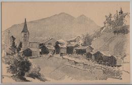 Vissoie - Künstlerkarte - VS Valais