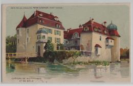 Chateau De Schloss Bottmingen De Bale - Litho Chocolat Kohler Gala Peter - BL Basle-Country