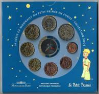 FRANCIA 2003 - Le Petit Prince - DIVISIONALE FDC - N.° 8 Pezzi In Euro + Medaglia - Confezione Originale - Francia