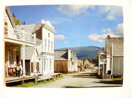Post Card From Canada Queen 1990 Barkerville - 1952-.... Regno Di Elizabeth II