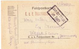 1918 CARTOLINA POSTALE OSPEDALE MILITARE DI TRIESTE - Weltkrieg 1914-18