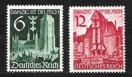 Reich N° 652 Et 653 Neufs * - Allemagne