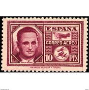ES992STV-LTV***992STTAV.Spain.Espagne .Avion Aviador.GARCIA MORATO.1945.(Ed 992**) - Aviones