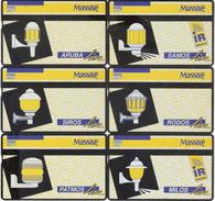 Netherlands-L&G Set Of 6 Cards,tirage 1.000,unused