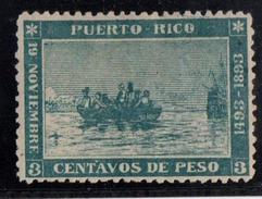 PUERTO RICO Nº 101. DESCARNADO. - Puerto Rico