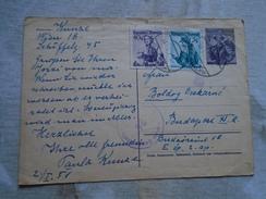 D149095  Austria  Postal Stationery - 1951 Allierte Zensurstelle  24  Military Censure - 1945-60 Briefe U. Dokumente
