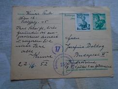 D149096  Austria  Postal Stationery - 1952   Allierte Zensurstelle  156   Military Censure - 1945-60 Briefe U. Dokumente