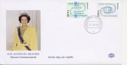"""Cour Internationale De Justice"" Zegels 2004 Op Edel FDC - Blanco / Open Klep - FDC"