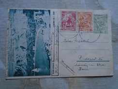 D149102 YUGOSLAVIA - Postal Stationery -  MAKARSKA 10 Dinara - 1957 -additional Stamps - Entiers Postaux