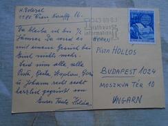 D149104 Austria WIEN   1974 Postkarte - Rathaus Information 43.89.80 Stamp 50 Jahre Radio Austria - 1971-80 Gebraucht