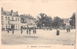 ¤¤  -    12   -  GUERET   -  La Place Bonnyaud   -  Hôtel Saint-François   -  ¤¤ - Guéret